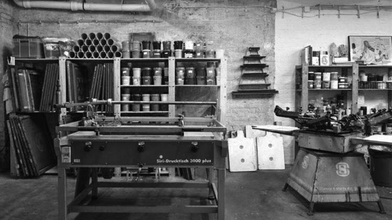 Le Raclet + Cachetejack workshop - serigraphy + illustration