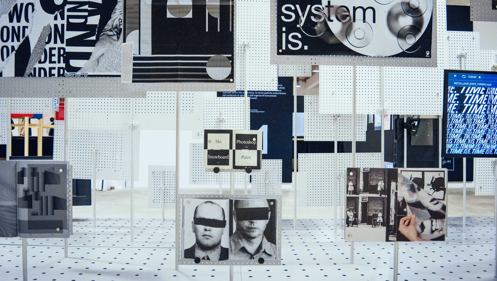 example of an exhibition during Graphic Days Torino vol.03