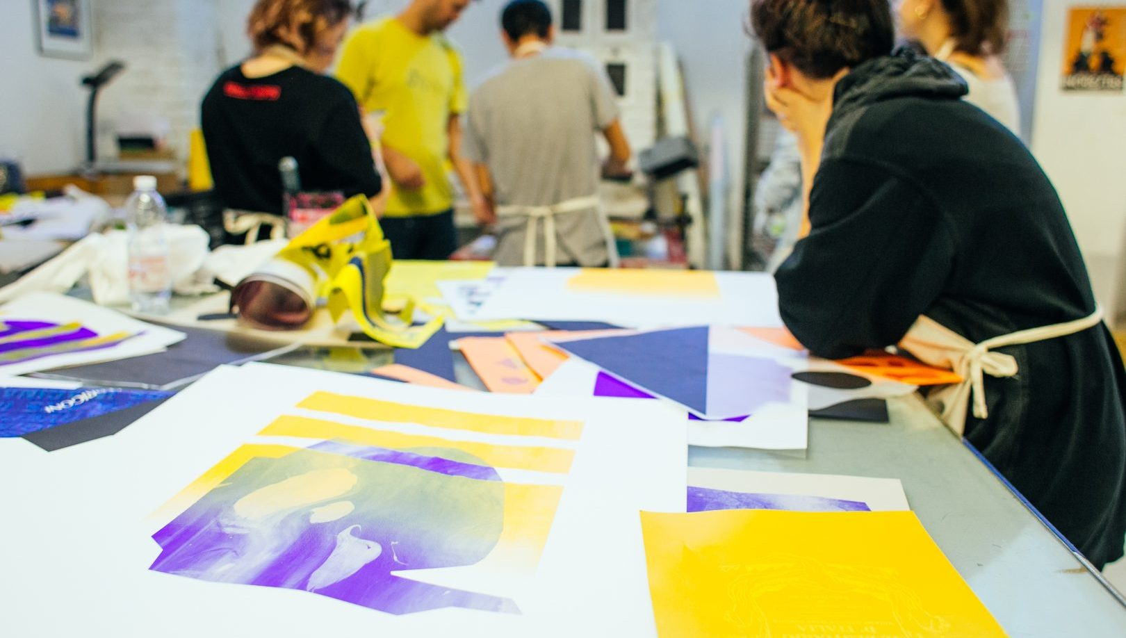 example of a workshop during Graphic Days Torino vol.03