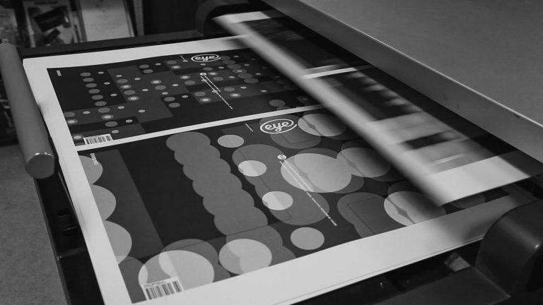artwork for Eye Magazine talk on typography